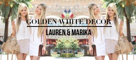 From Cali to NY: Good as Gold with Golden White Décor