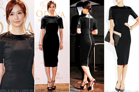 Son Tae Young Wears Victoria Beckham To 'Godiva' Party
