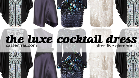 THE LUXE COCKTAIL DRESS