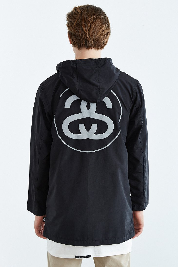 Lyst Stussy 3m Reflective Ss Link Hooded Jacket In Black