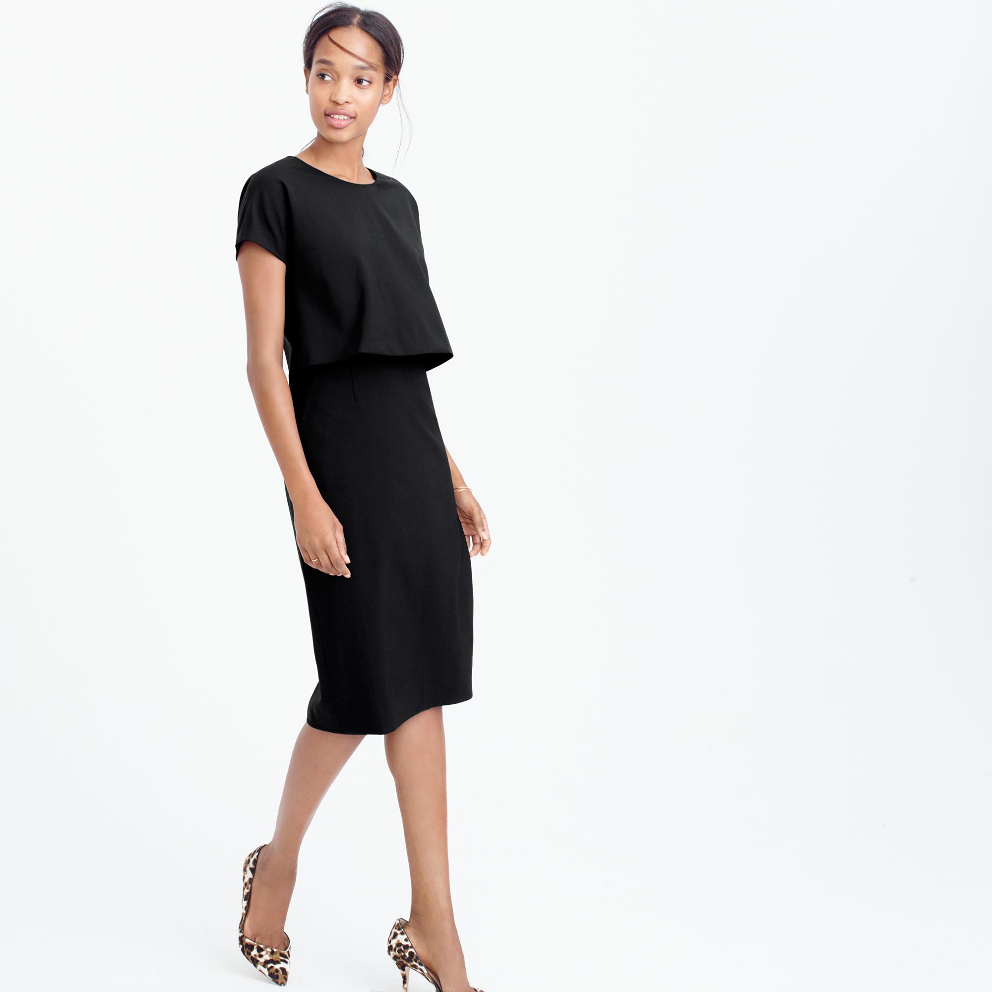 Black dress j crew - Gallery Women S Tiered Dresses