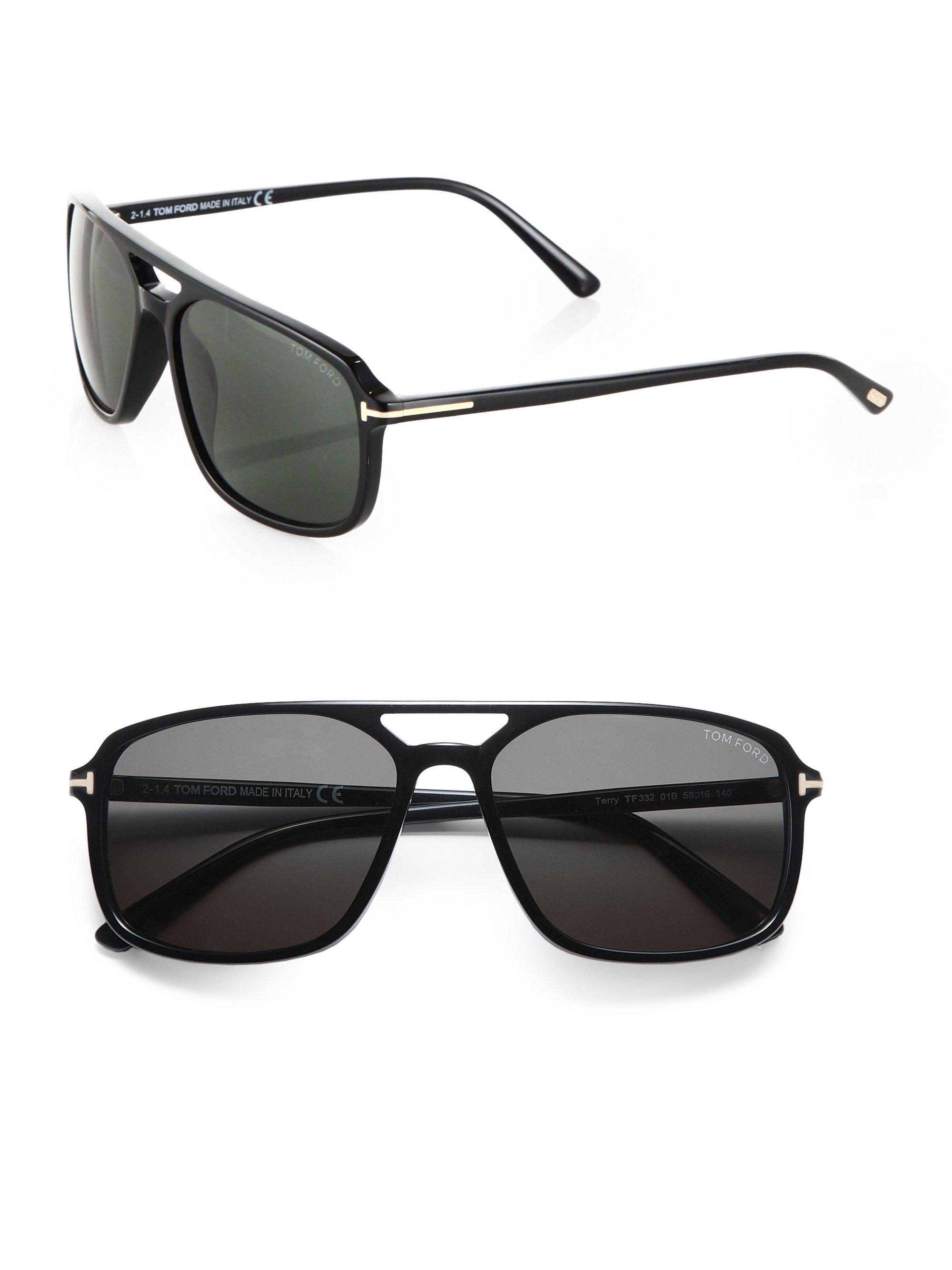 556c1319290 Lyst - Tom Ford Flynn 58mm Acetate Sunglasses in Black for Men