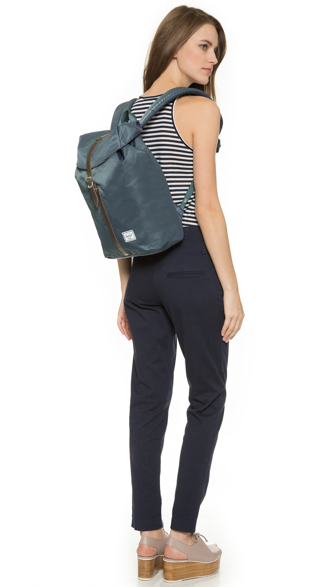 573927add34a Herschel Supply Co. Post Backpack - Navy in Blue - Lyst