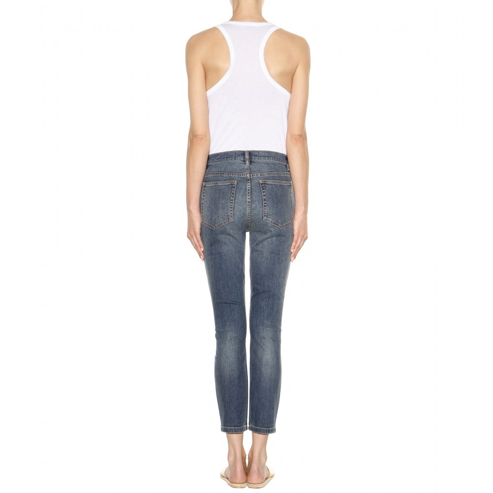 Ella cropped skinny jeans Marc Jacobs cXauVQzr