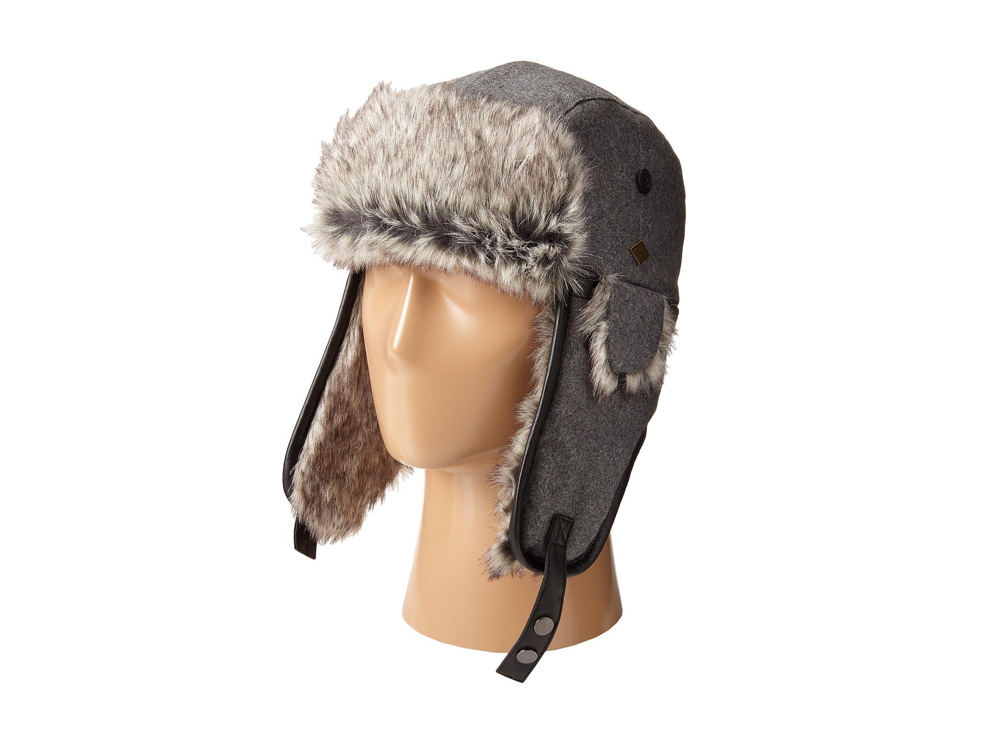 a35a5953c8760 Lyst - San Diego Hat Company Sdh2067 Faux Fur Trapper With Faux ...