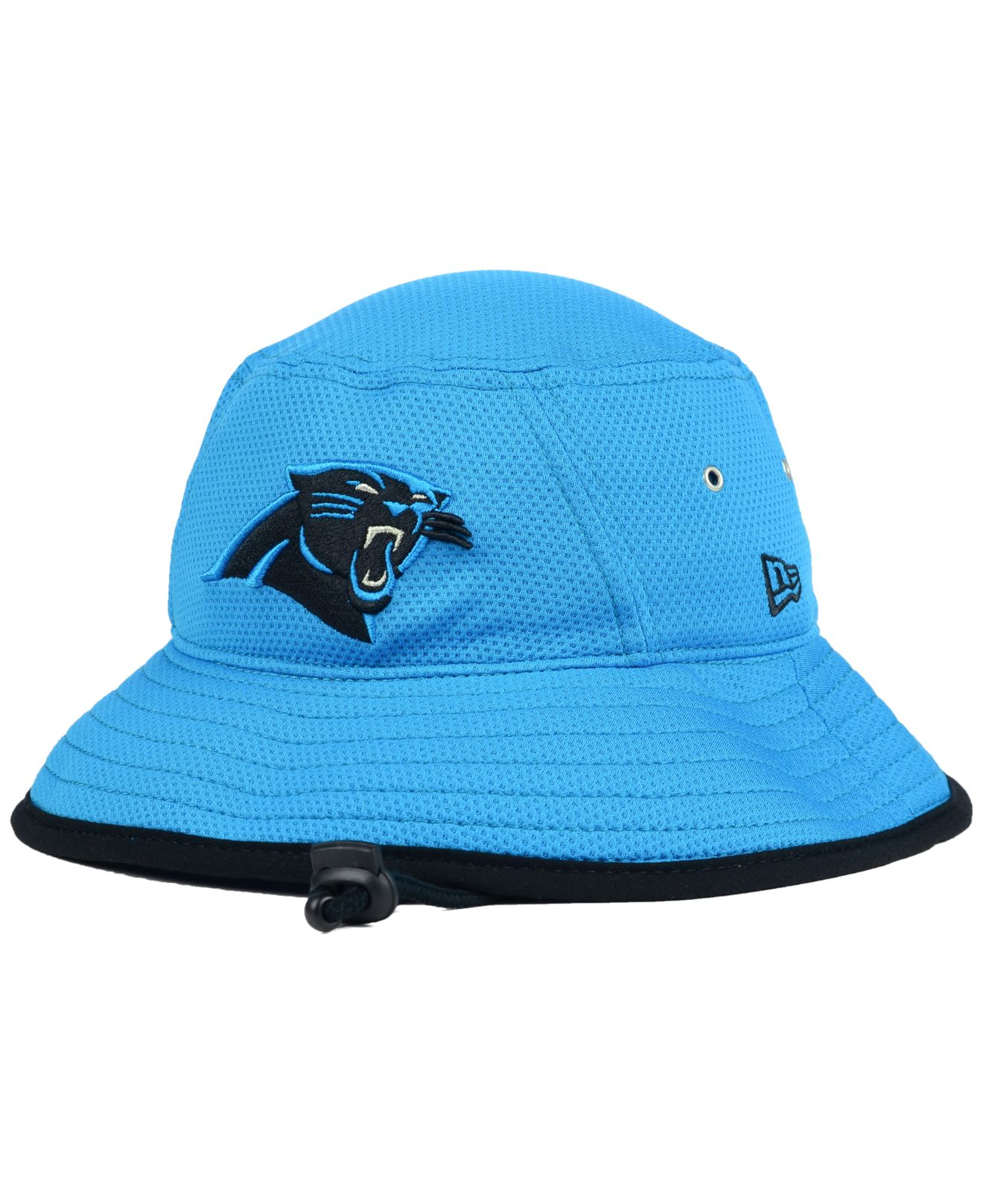 5f7e1d7ca6c Lyst - KTZ Carolina Panthers Training Bucket Hat in Blue for Men