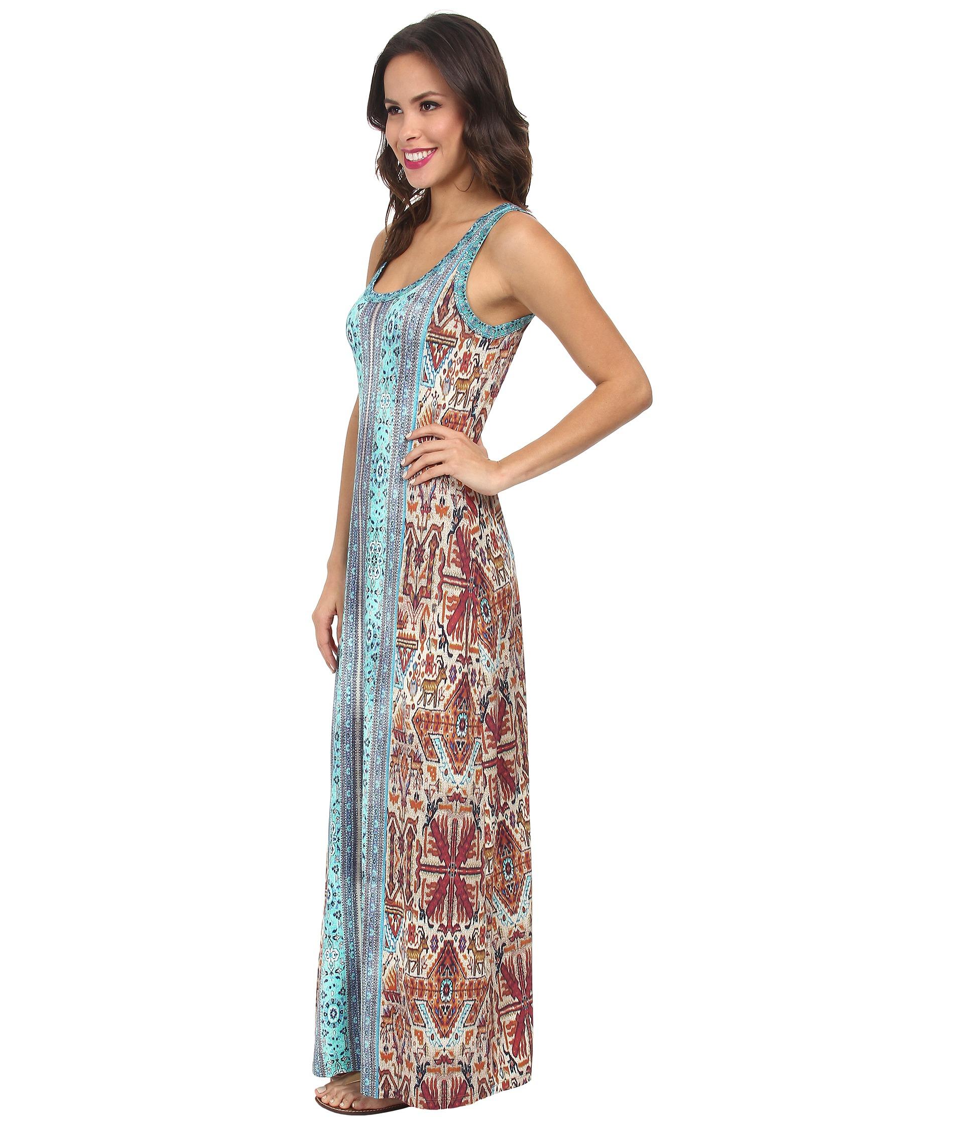 Baja dress floral maxi