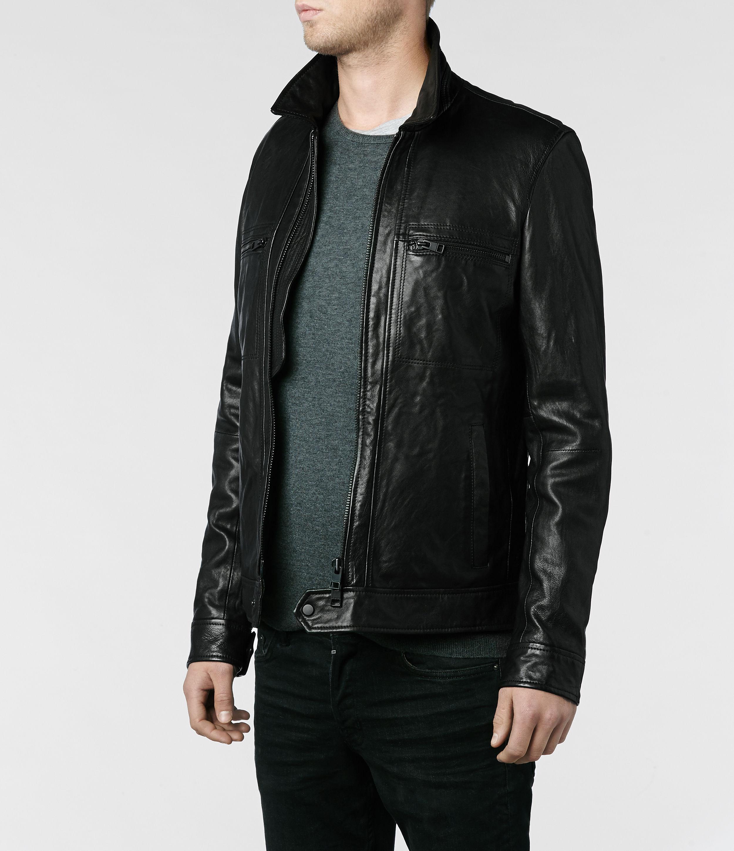 Leather jackets all saints