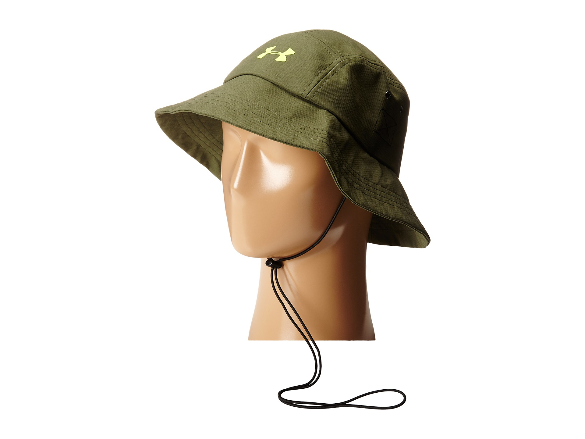 Lyst - Under Armour Ua Toughest Bucket Hat in Green for Men 10a810c28ac