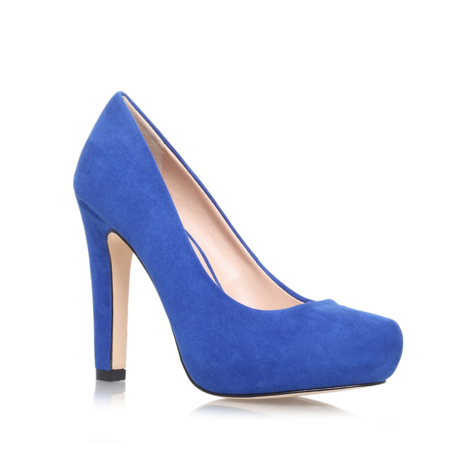 miss kg annie high heel court shoes in blue lyst. Black Bedroom Furniture Sets. Home Design Ideas