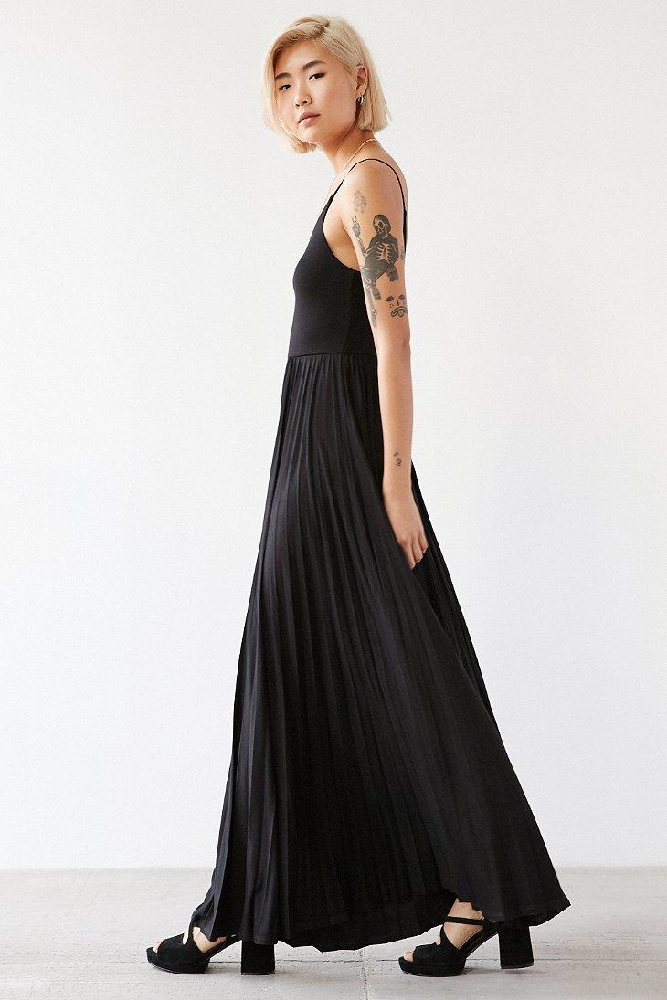 ddfd5fd9274 Blue And Black Maxi Dress - Gomes Weine AG