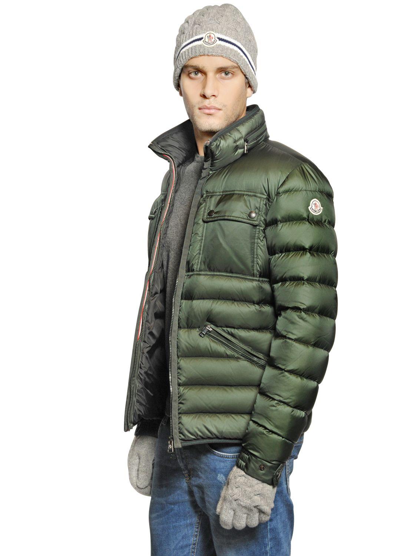 moncler green puffer jacket