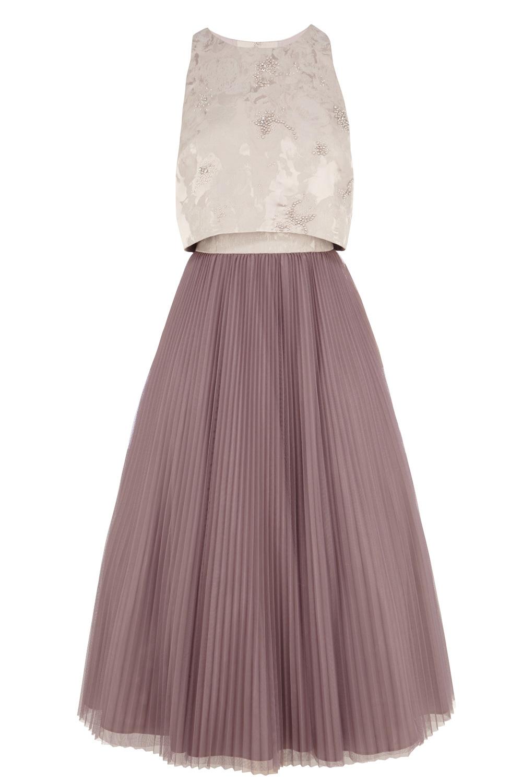 Lyst Coast Harven Midi Dress In Purple