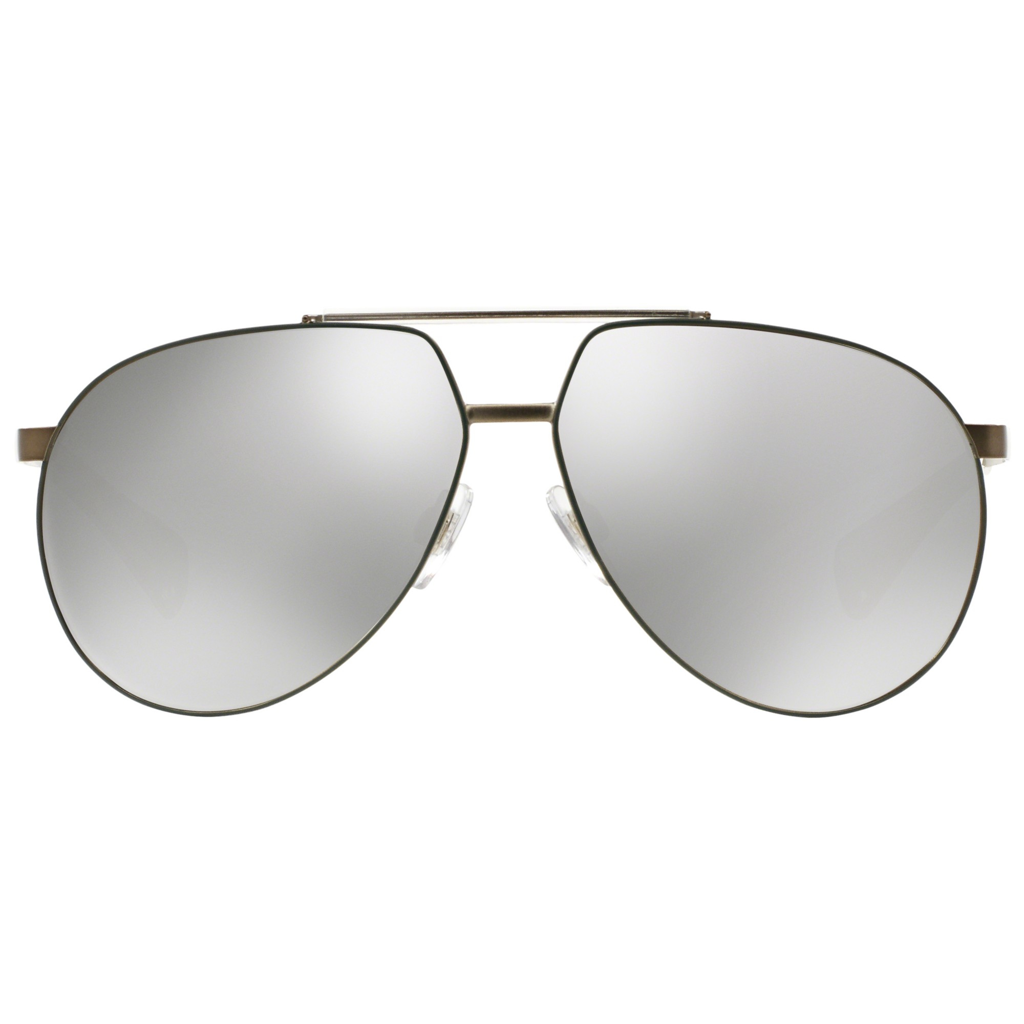 fe7d3fa560f3 Dolce   Gabbana Dg2152 Aviator Sunglasses in Metallic - Lyst
