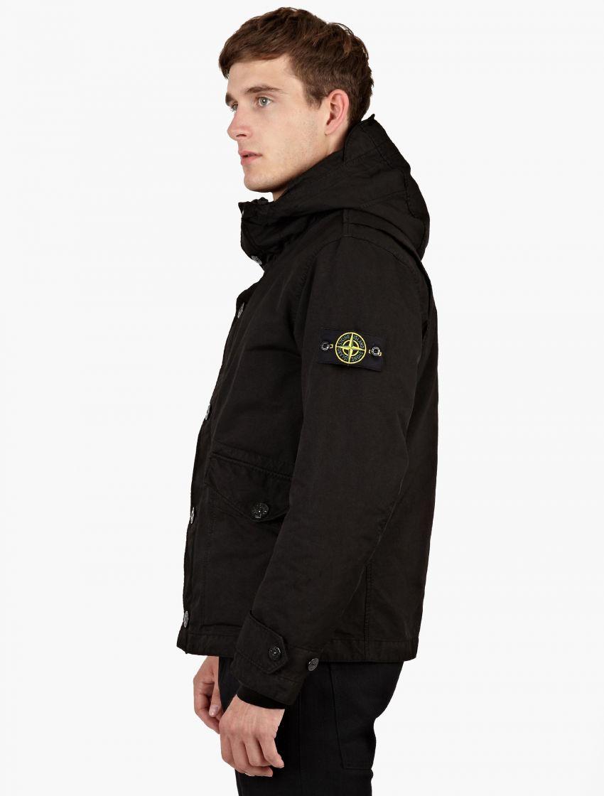 Stone Island David Tc Field Jacket Black