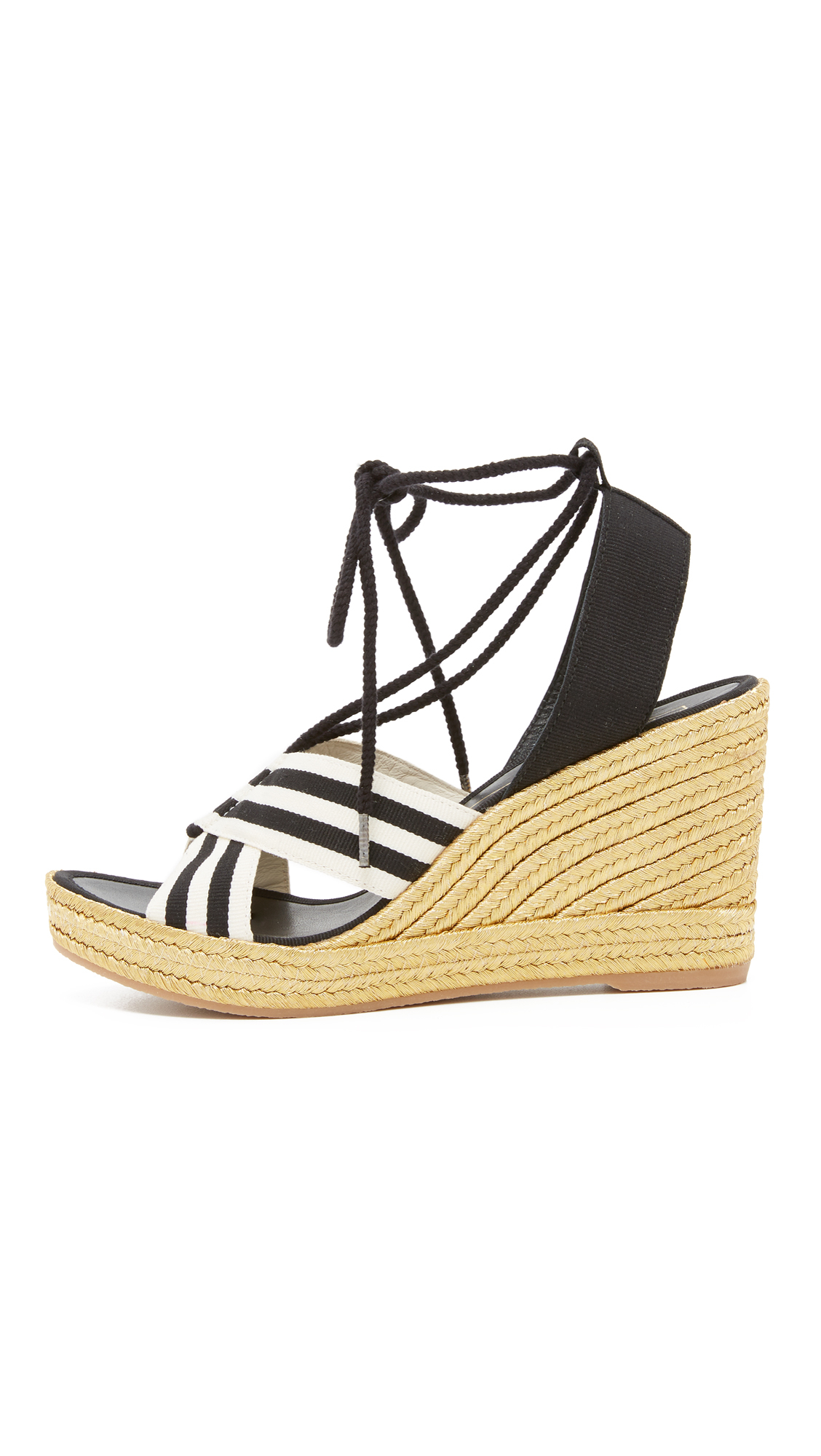 d5a7dd42fc7 Lyst - Marc Jacobs Dani Wedge Espadrille Sandals in White