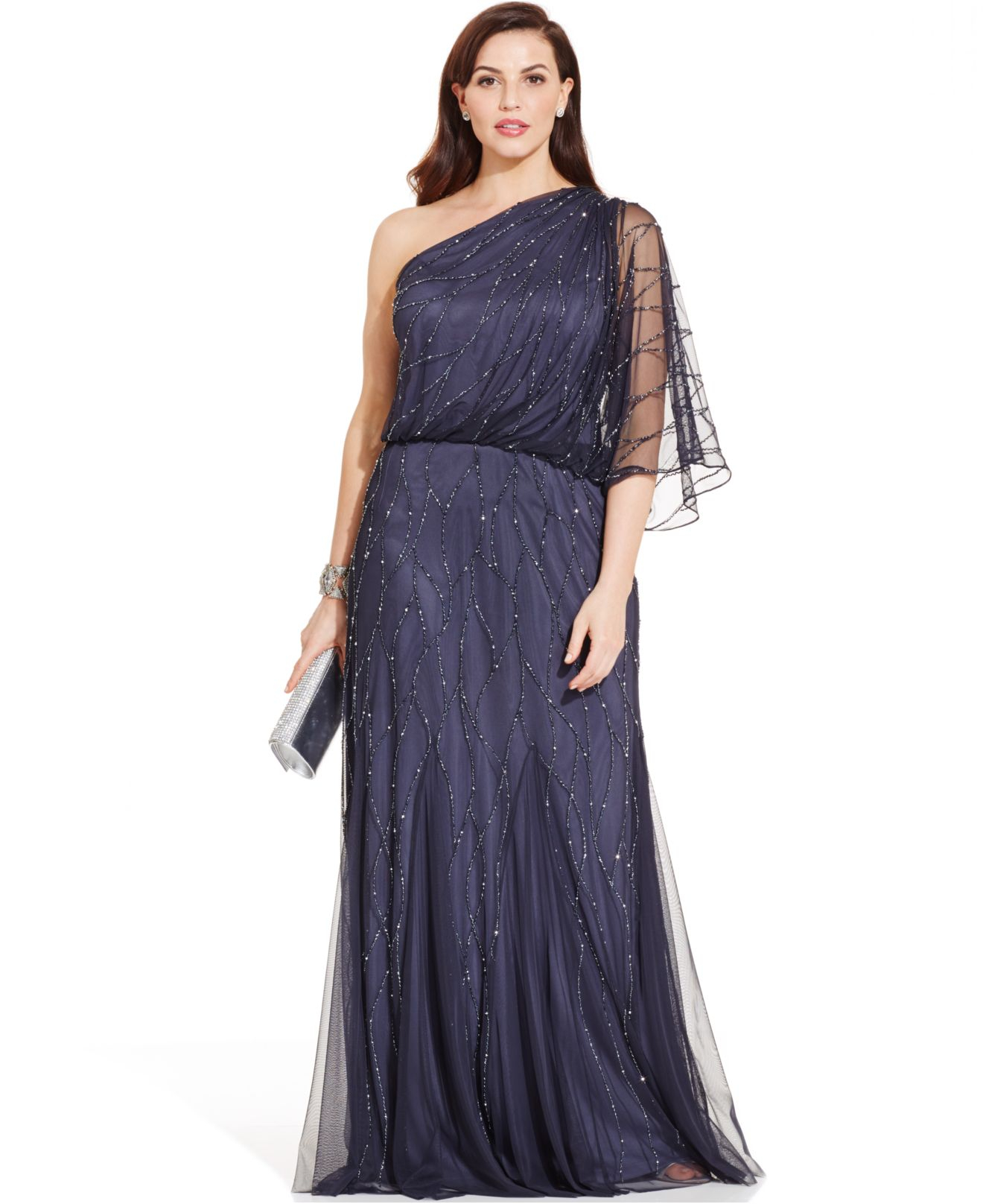 Adrianna Papell Plus Size Formal Dresses – fashion dresses