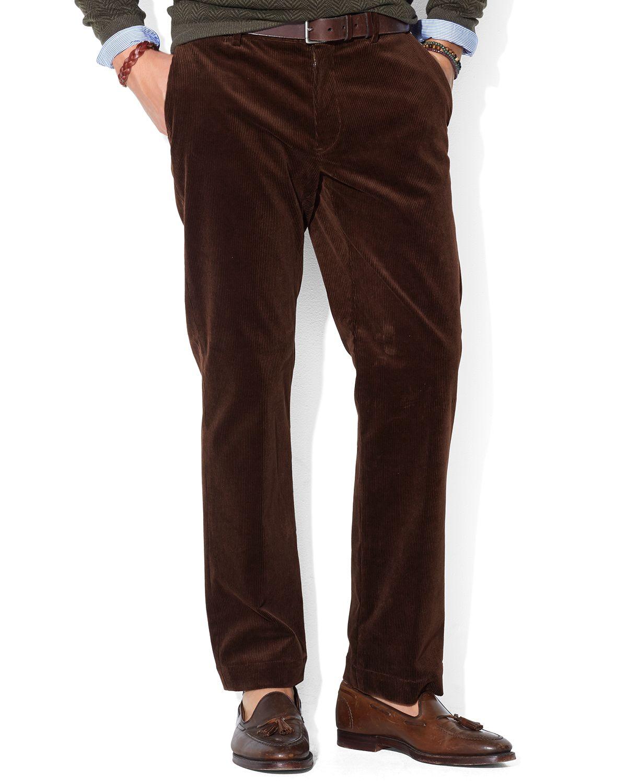 Ralph lauren Polo Classic-Fit Newport Corduroy Pants in Brown for ...