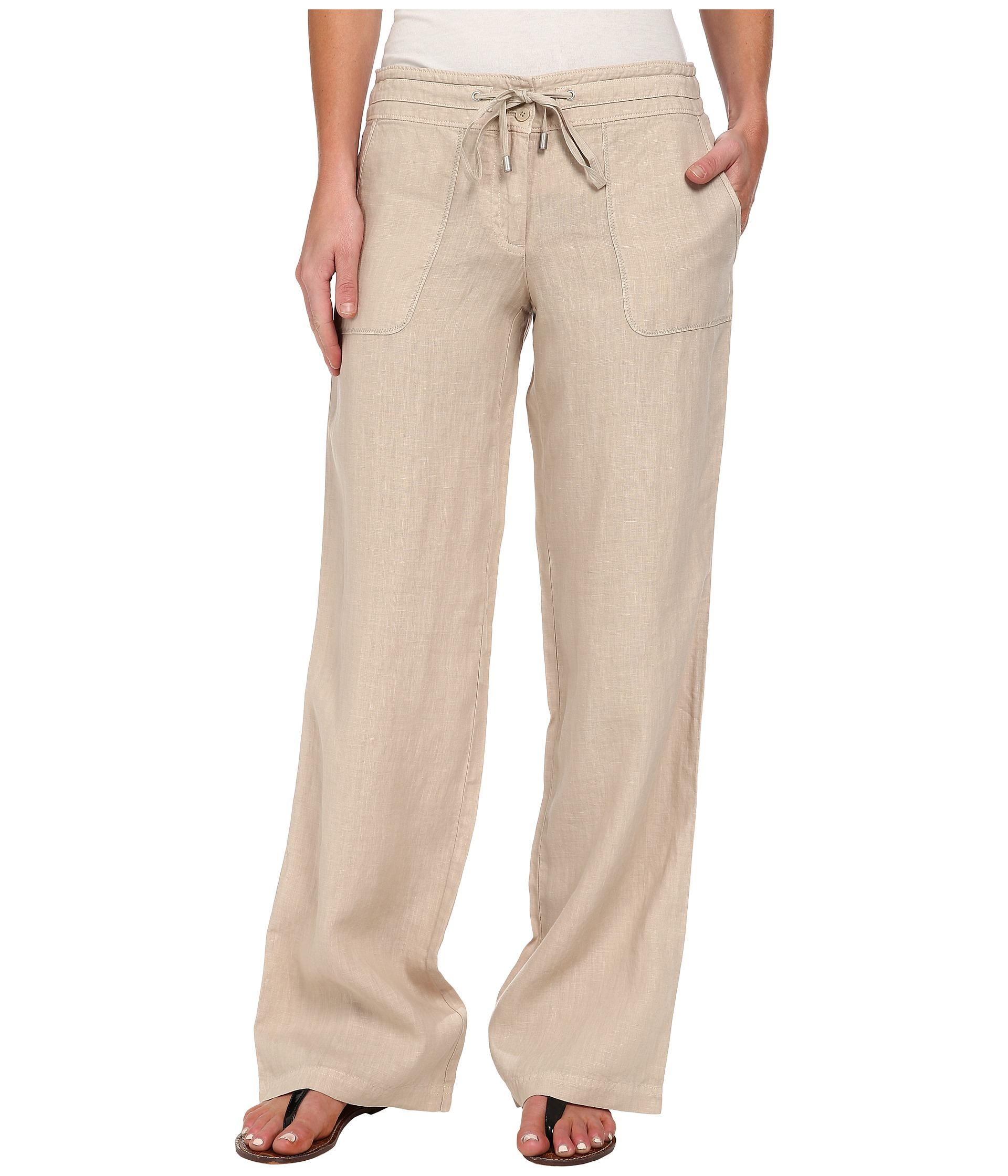 0a03e59d Tommy Bahama Two Palms Drawstring Pants in Natural - Lyst