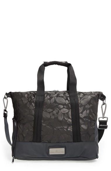 dacd33192d7e Lyst - adidas By Stella McCartney Small Gym Bag in Black