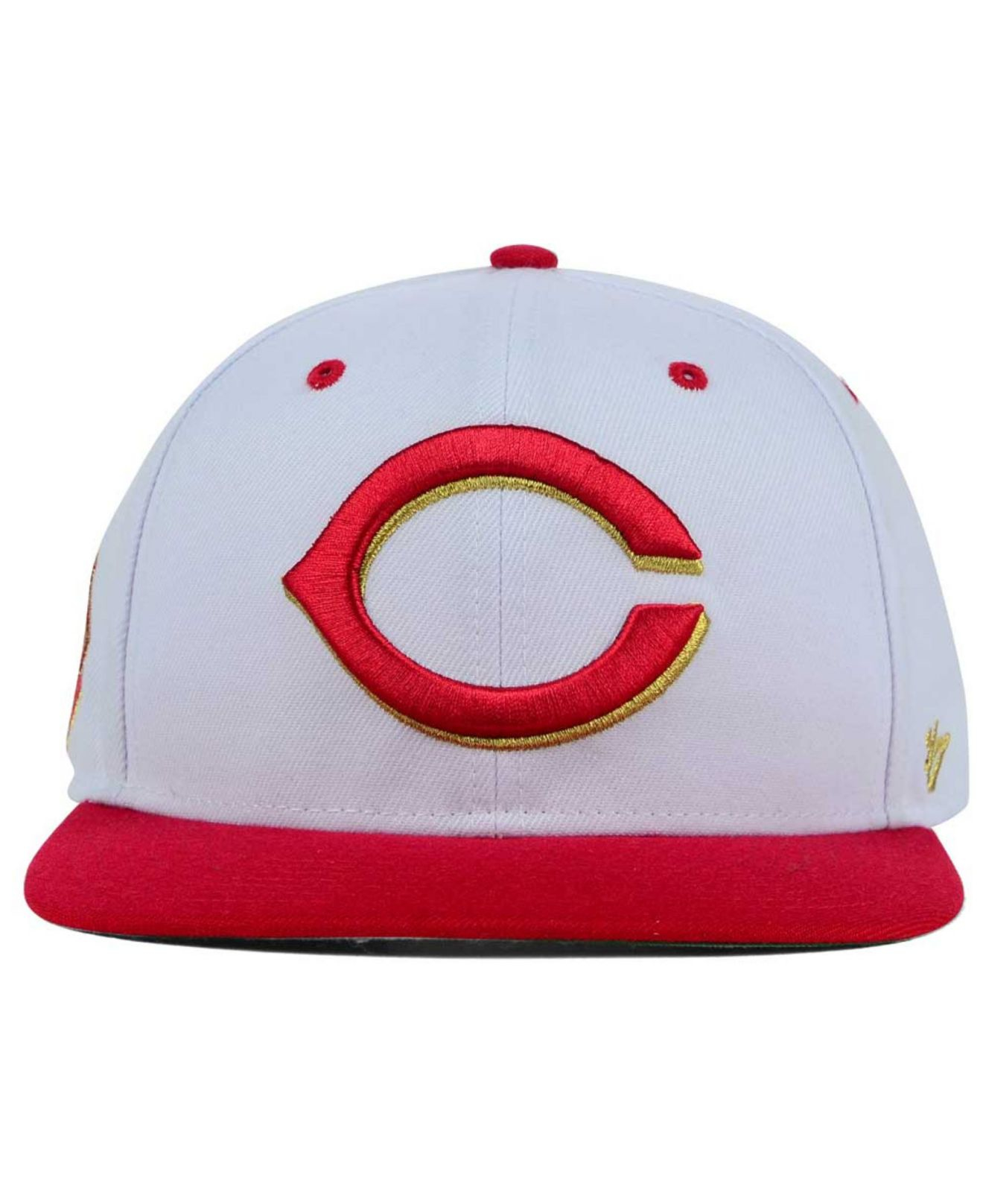 new concept 31646 7b433 ... low cost black and gold cincinnati reds hat hat cc33d 8085a