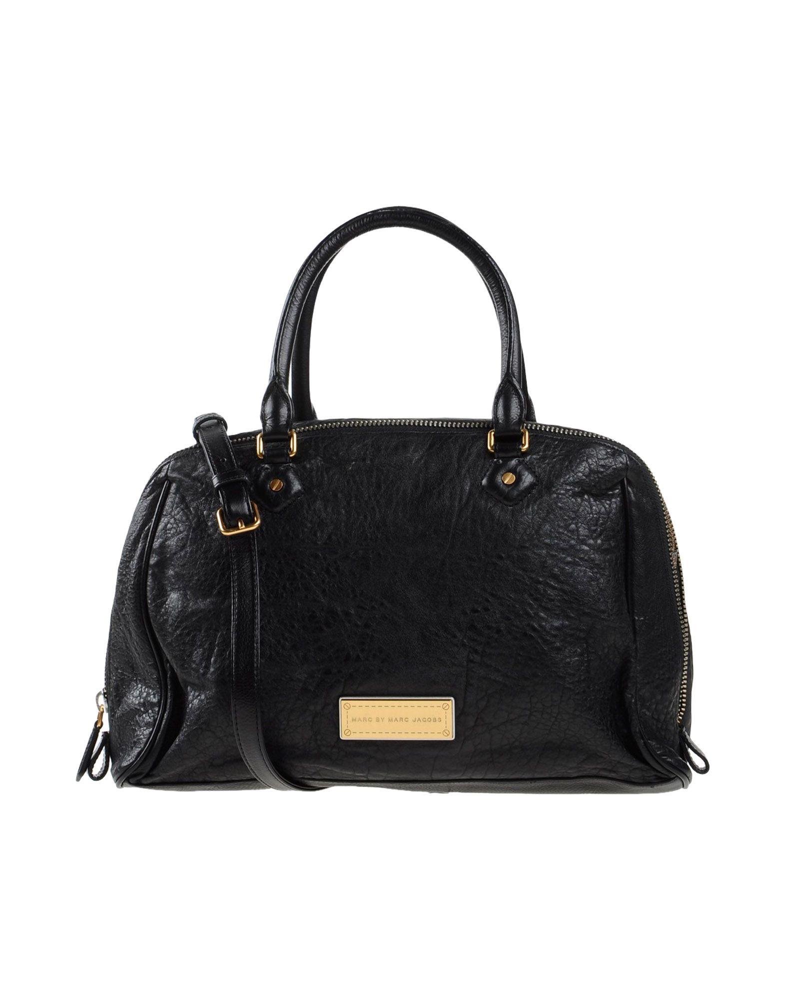 marc by marc jacobs handbag in black lyst. Black Bedroom Furniture Sets. Home Design Ideas