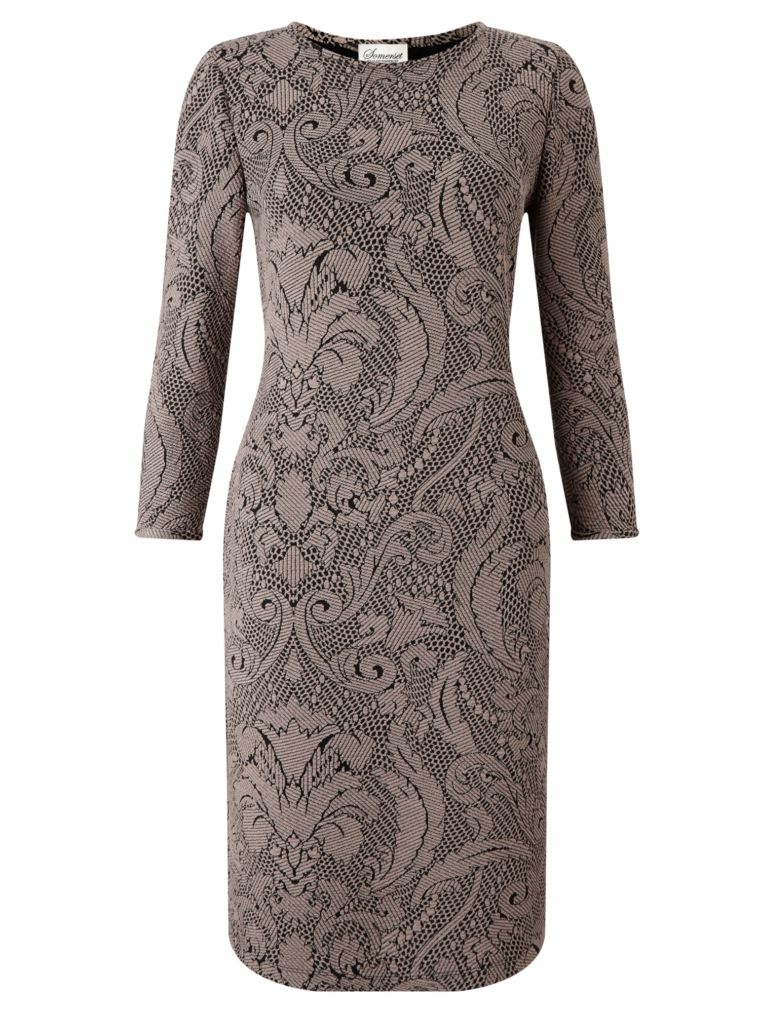 40b548d0b1569 Somerset by Alice Temperley Textured Bodycon Dress in Natural - Lyst