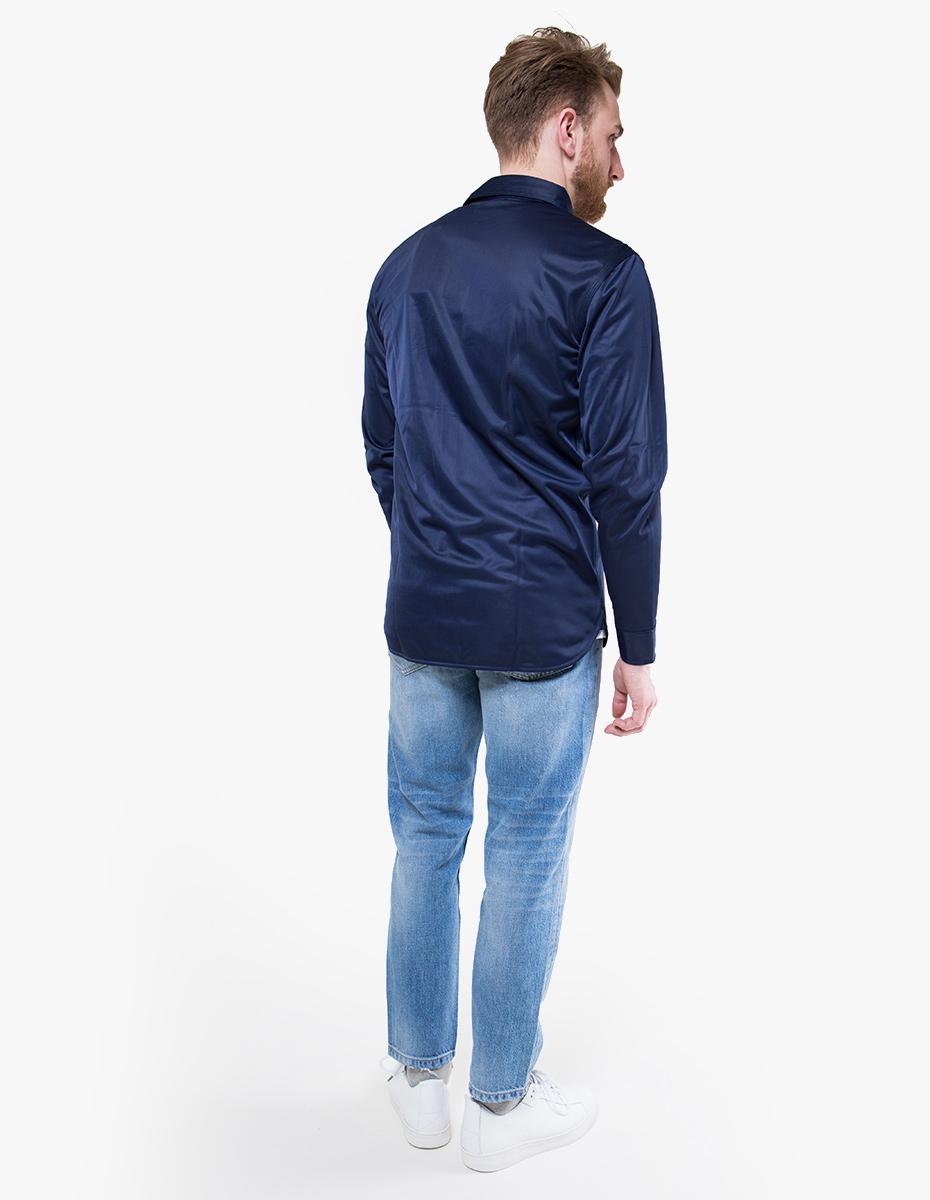 Han Kjobenhavn Army Shirt In Blue For Men Lyst