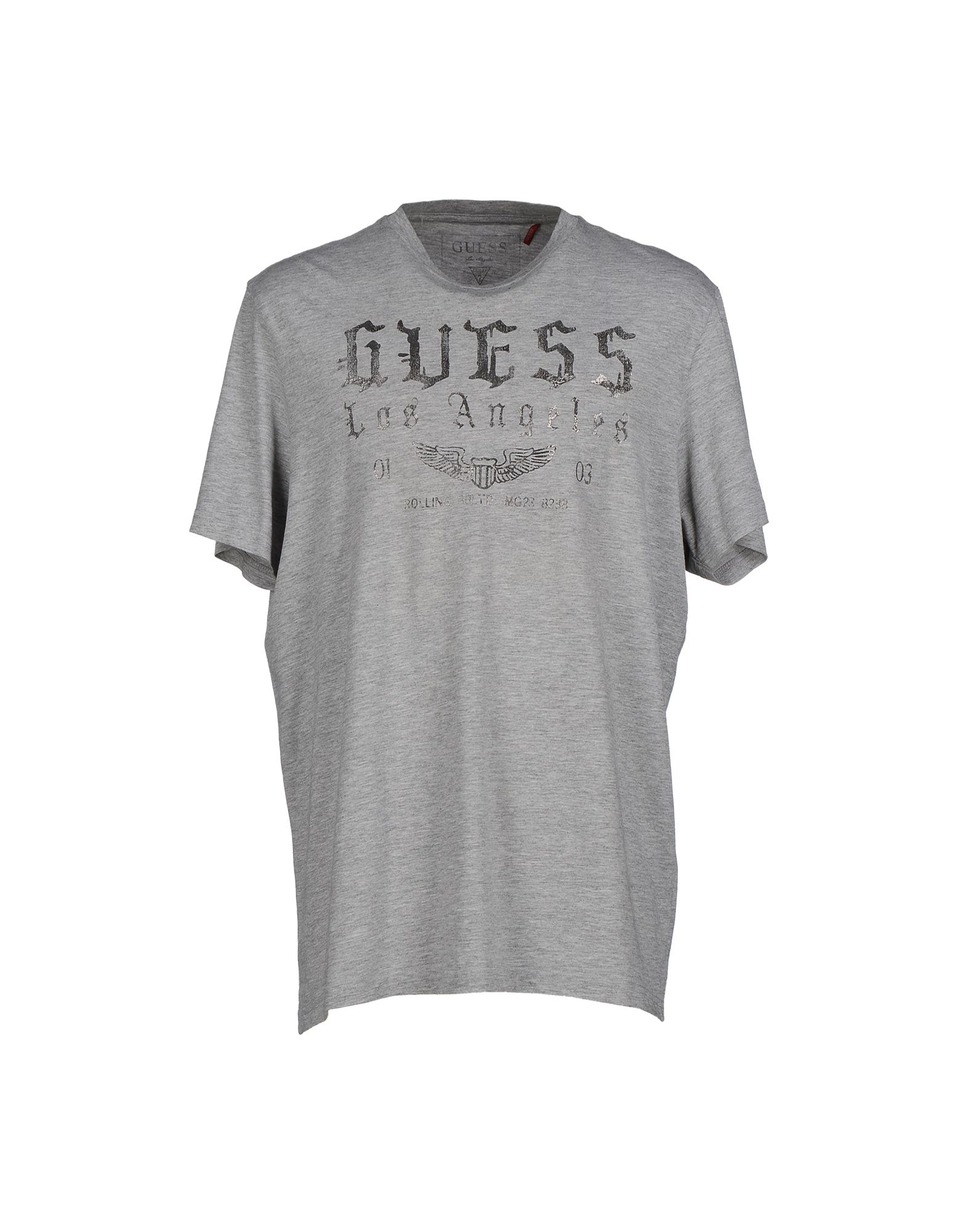 lyst guess t shirt in gray for men. Black Bedroom Furniture Sets. Home Design Ideas