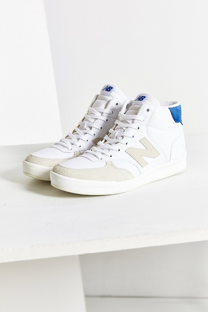 235066749f0e8 New Balance X Uo Mid Court 300 Sneaker in White - Lyst