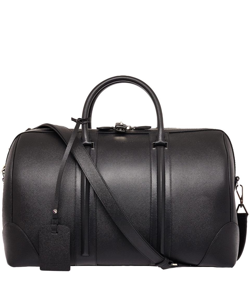 3b59974d9f Givenchy Black Leather Gym Bag in Black for Men - Lyst