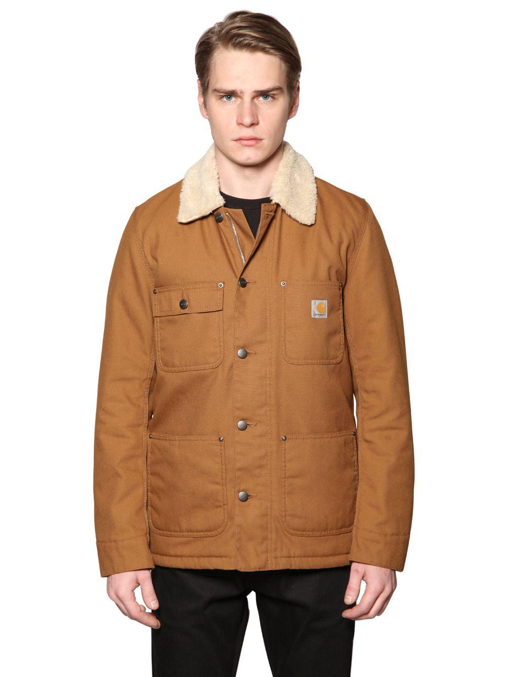 Lyst Carhartt Phoenix Techno Amp Cotton Canvas Jacket In