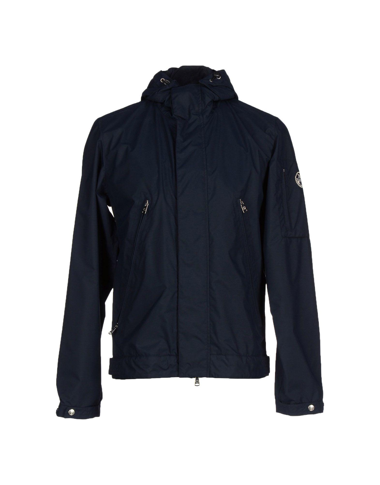 north sails jacket in blue for men dark blue lyst. Black Bedroom Furniture Sets. Home Design Ideas