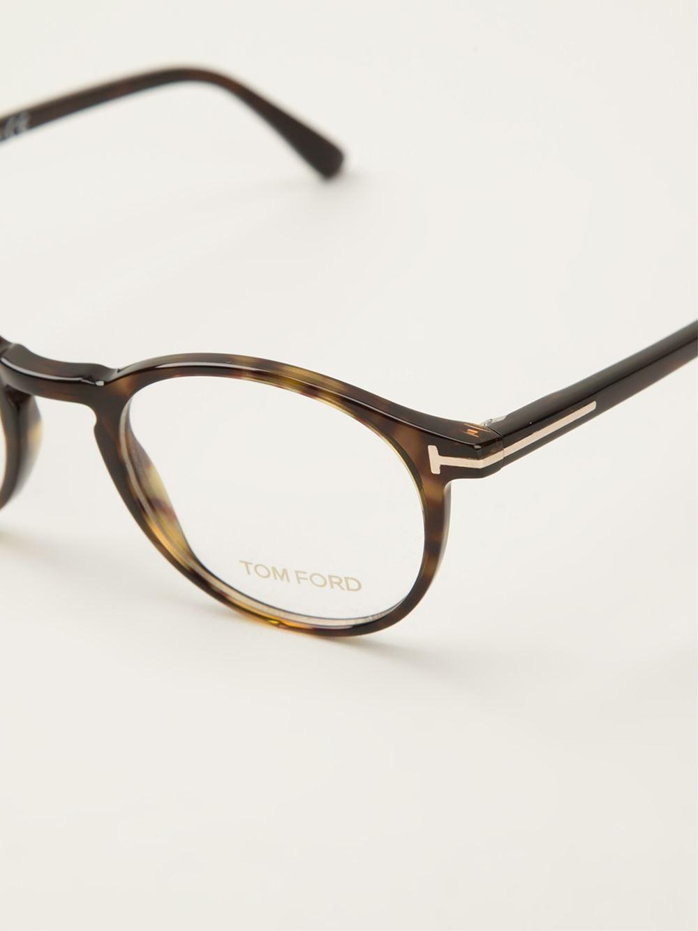 Tom Ford Tortoise S Sunglasses  tom ford tortoise s glasses in brown lyst