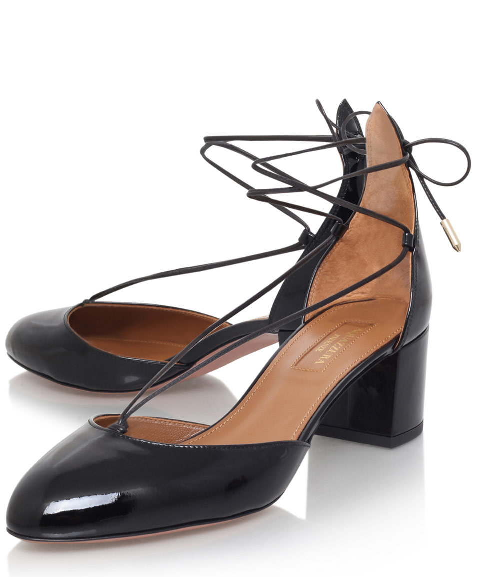 Aquazzura Patent Leather Heels