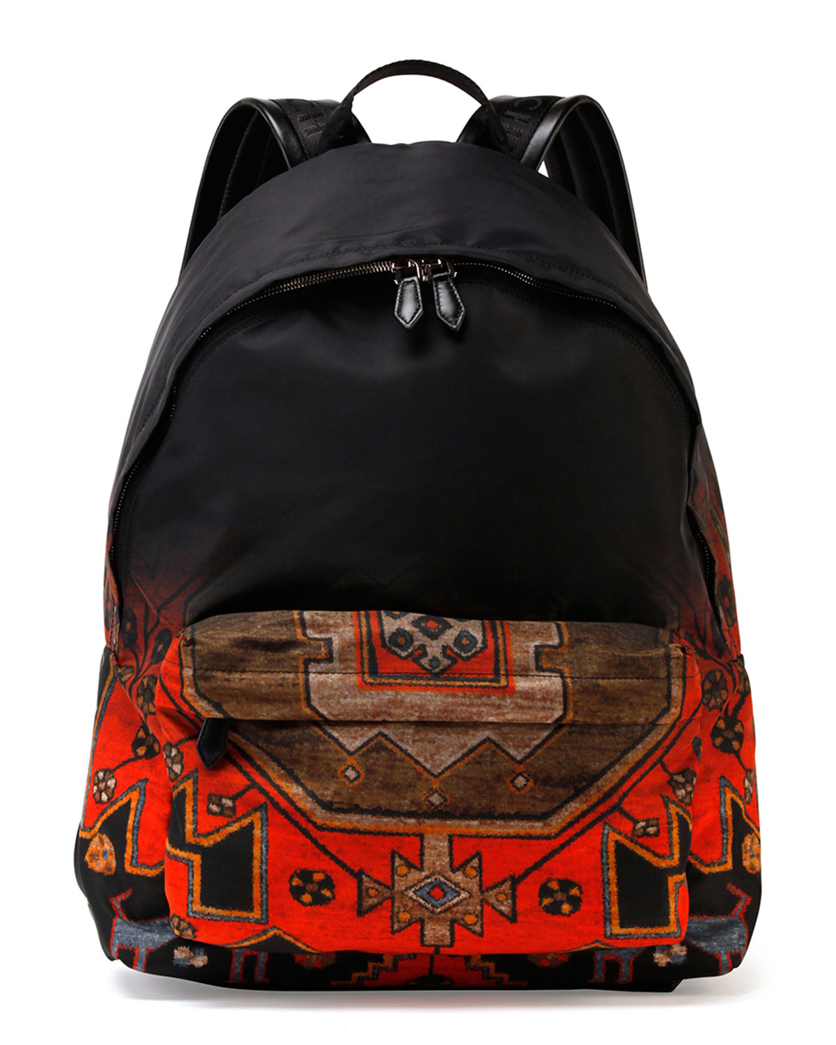 givenchy ombre rug print nylon backpack in red for men lyst