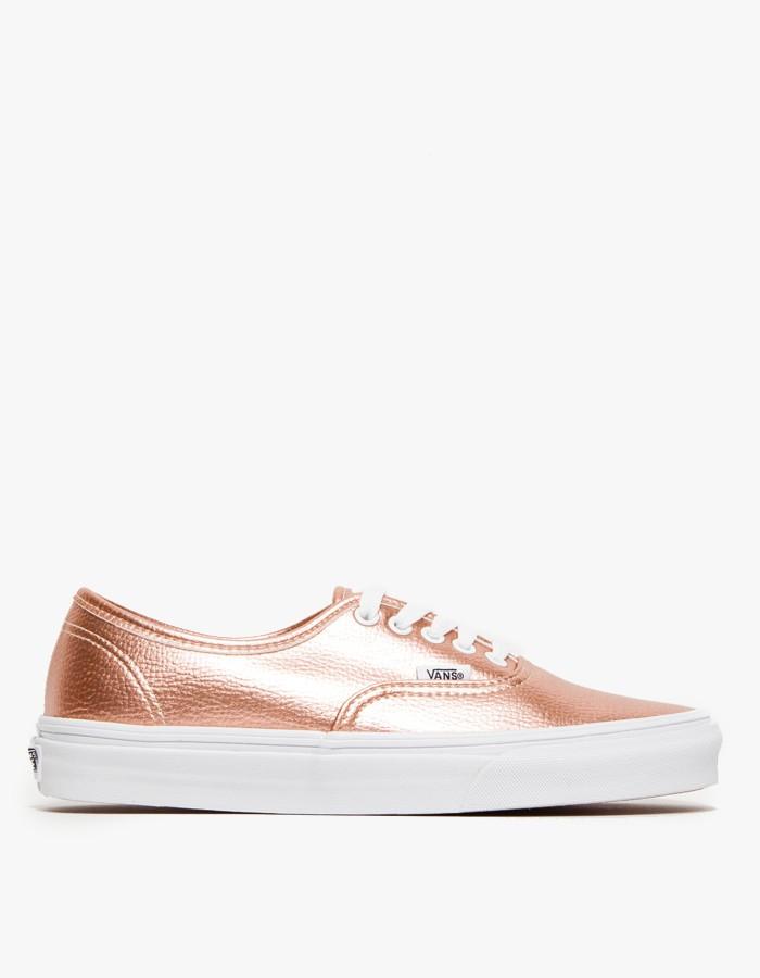 4cb0e8b509e444 Lyst vans authentic in rose glitter in pink jpg 700x900 Vans rose gold  glitter