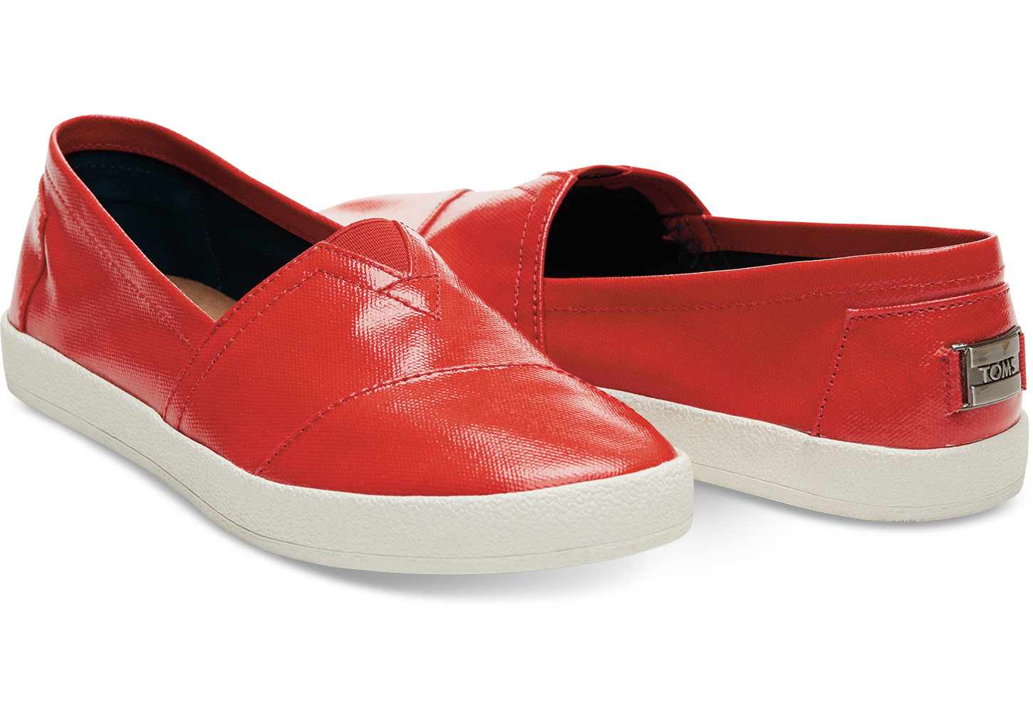 Women Slip On Shoes Patent Leather