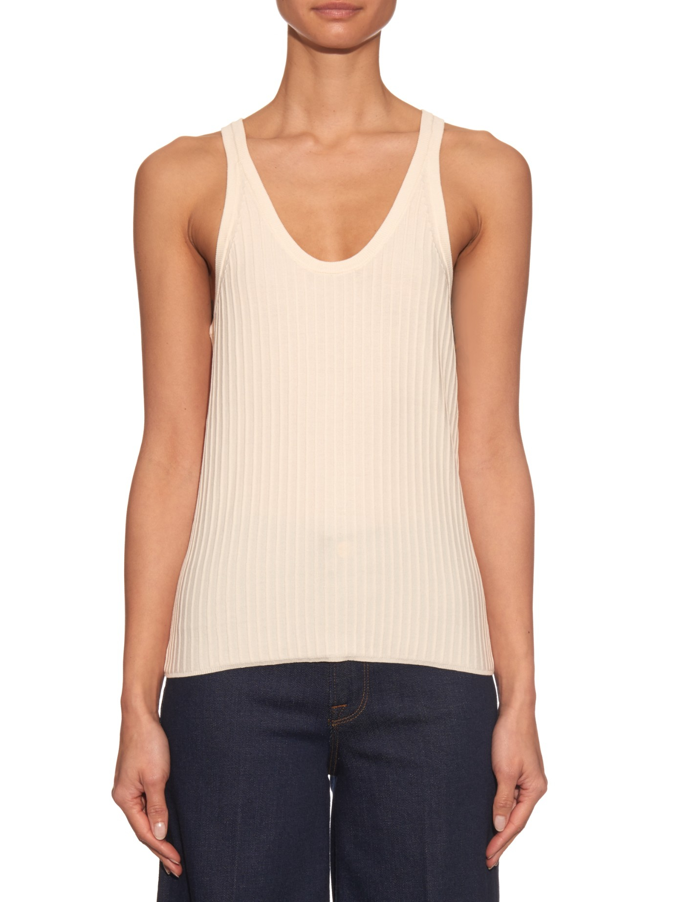 Find great deals on eBay for ribbed tank tops. Shop with confidence. Skip to main content. eBay: Womens Racerback Ribbed Tank Tops Cotton Sleeveless Top Stretch Fitness Sports. Brand New · Zenana Outfitters. $ INC Size Small White Ribbed Tank Top Beaded Detailing.