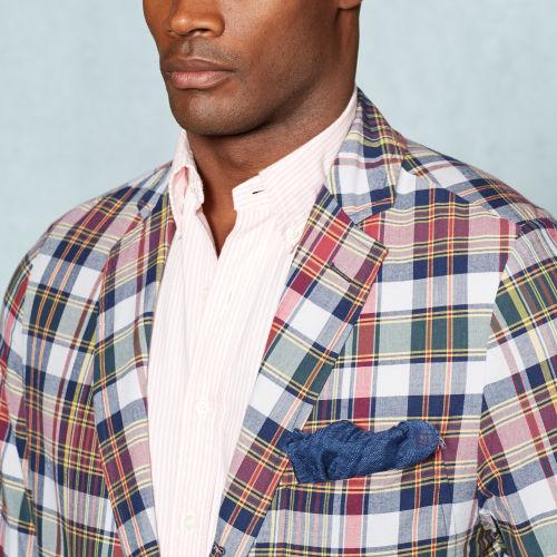 Lyst Polo Ralph Lauren Madras Grafton Sport Coat For Men