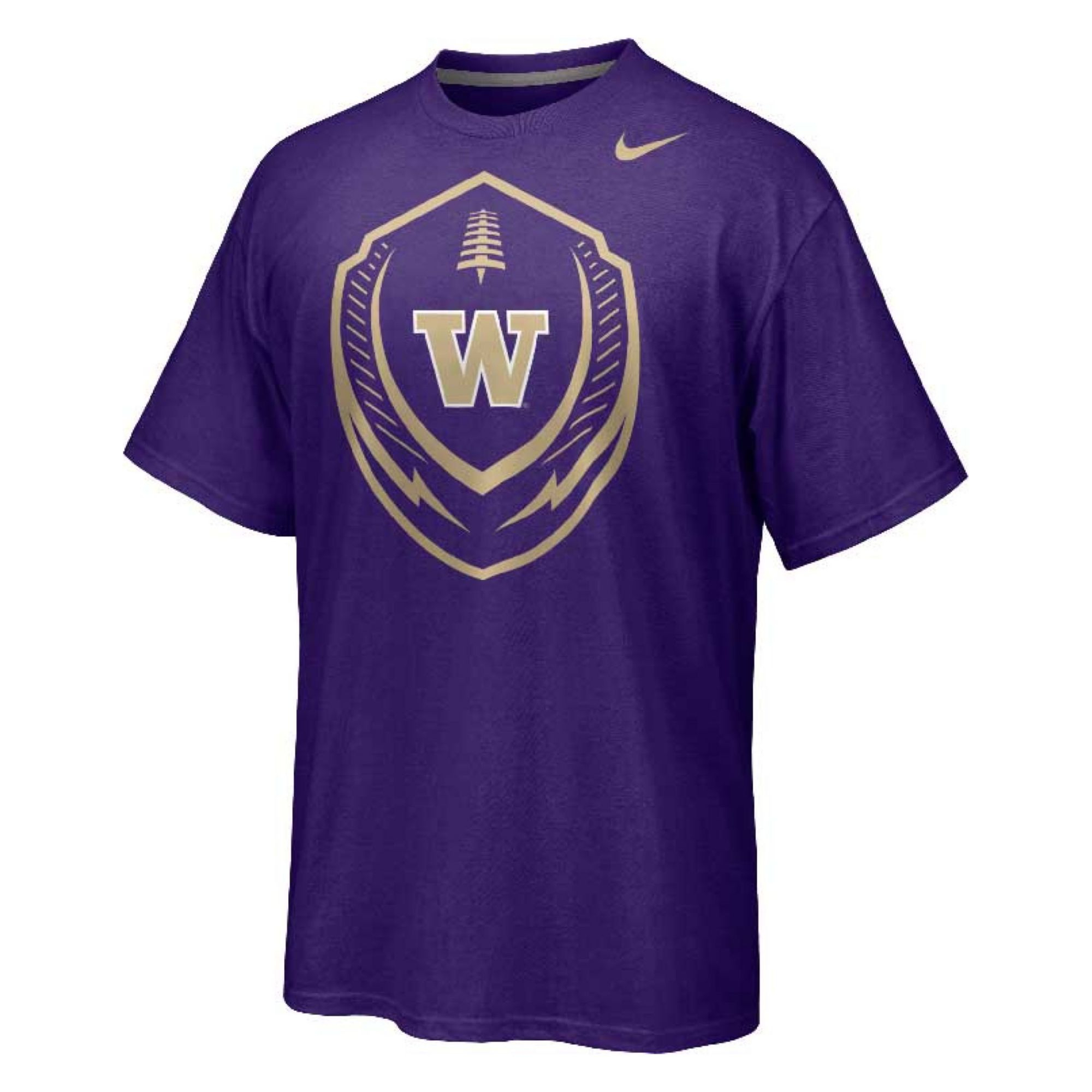 Nike Men 39 S Washington Huskies Icon T Shirt In Purple For