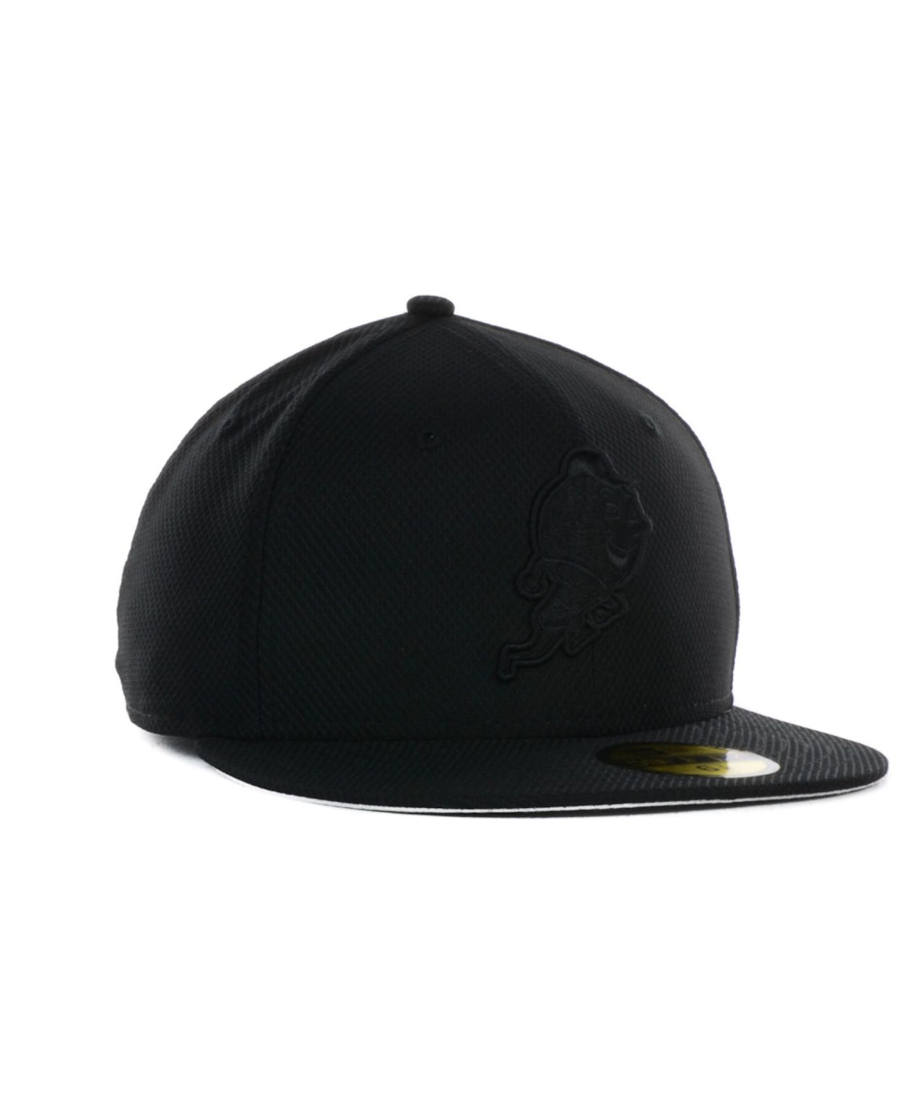 Lyst - Ktz New York Yankees Black Diamond Era 39thirty Cap in Black ... f758889e59b3