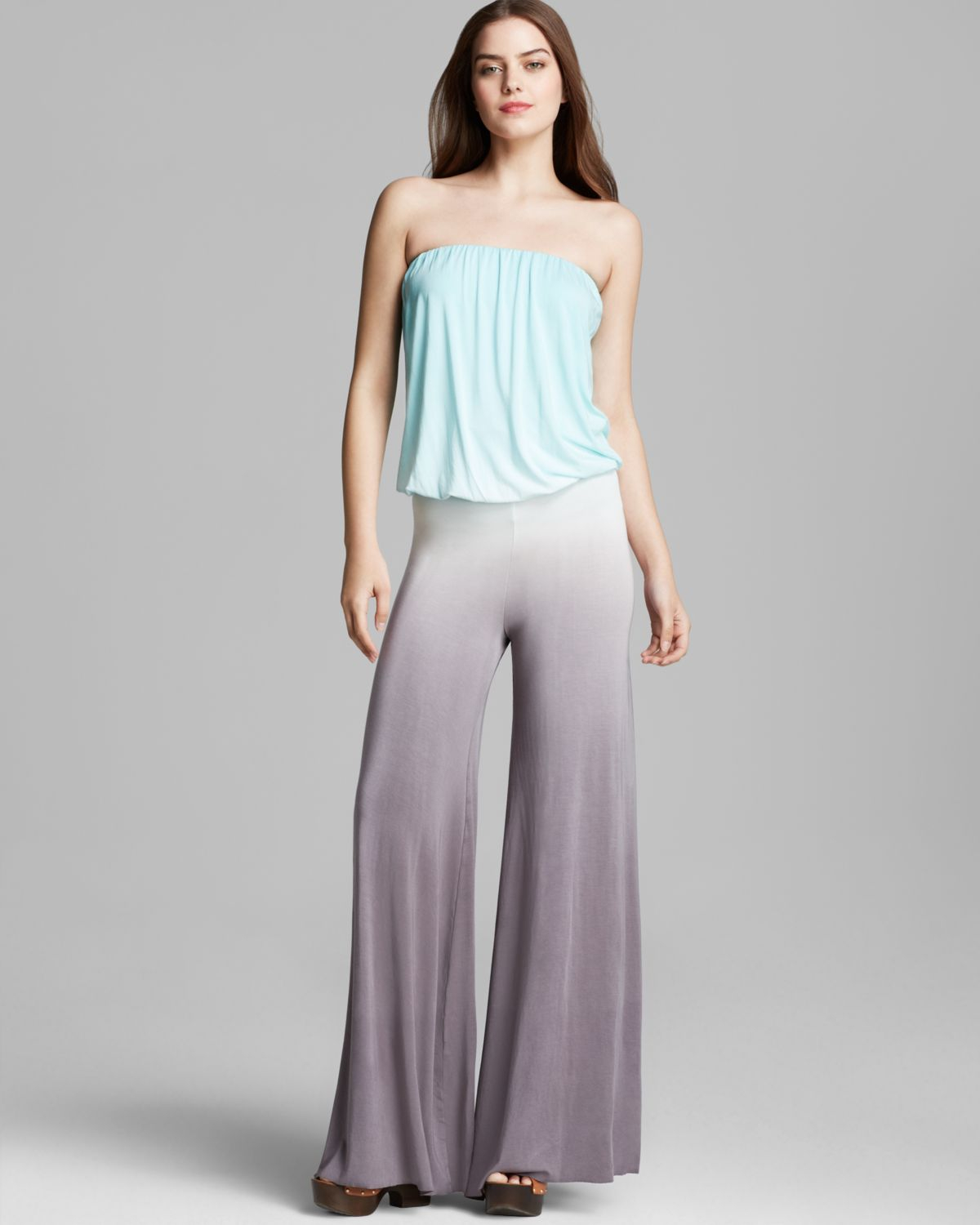 71740384bae Lyst - Young Fabulous   Broke Jumpsuit - Sydney Ombre in Gray