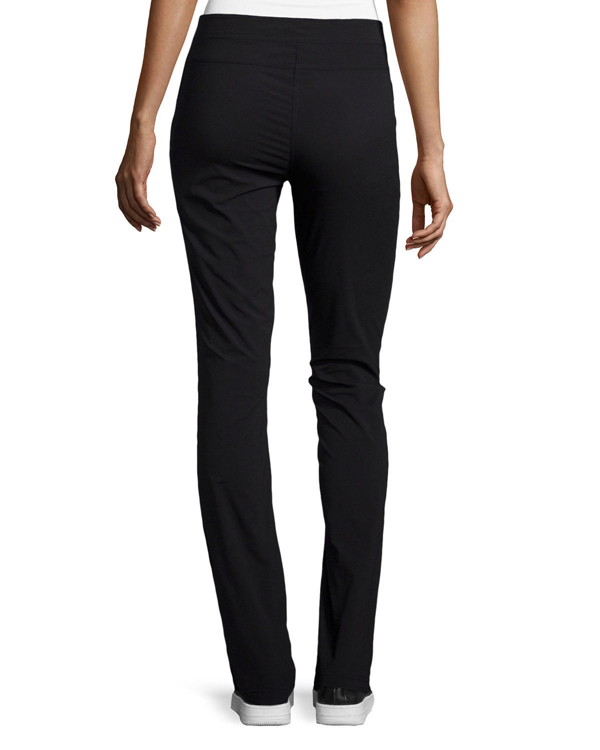 Lyst - Anatomie O-ring Flare-leg Pants in Black