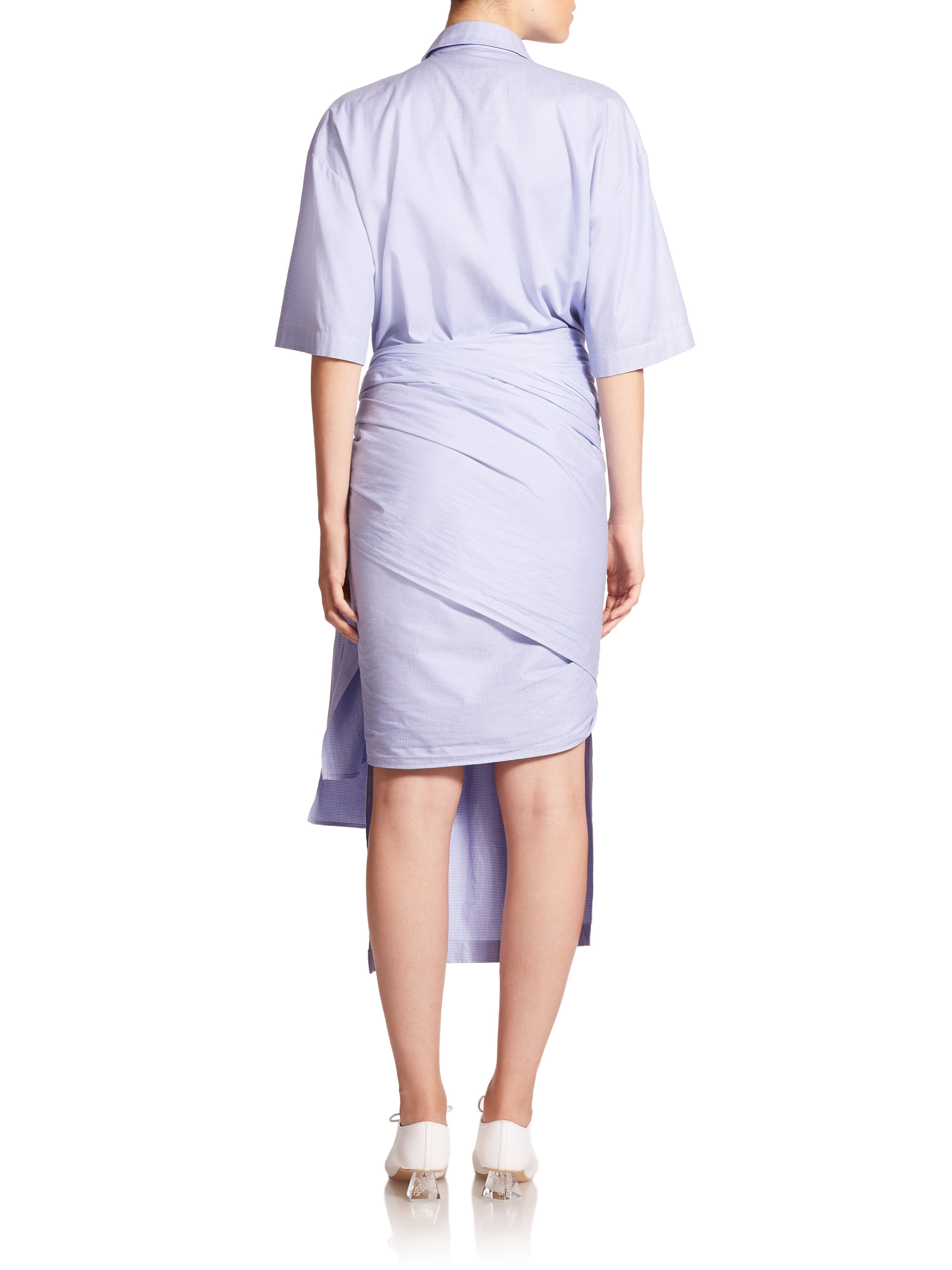 d5eaa07d91 Denim Wrap Dress Stella Mccartney