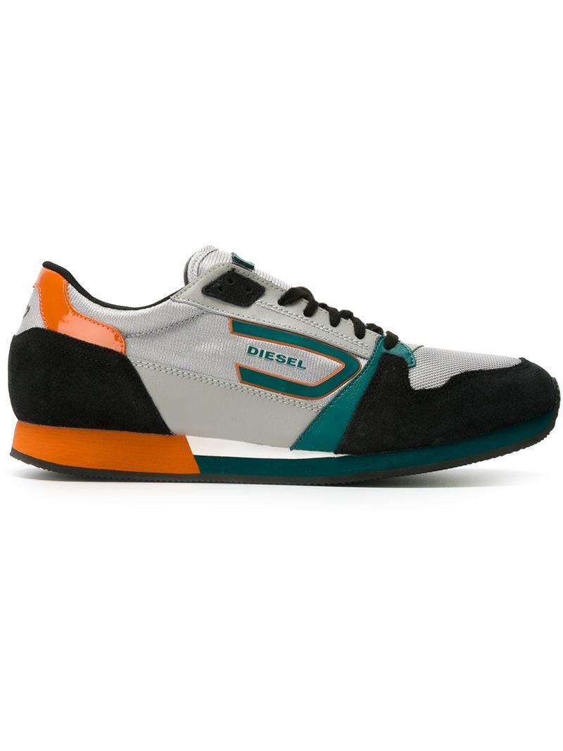 Lyst Diesel Owen Sneakers In Gray For Men