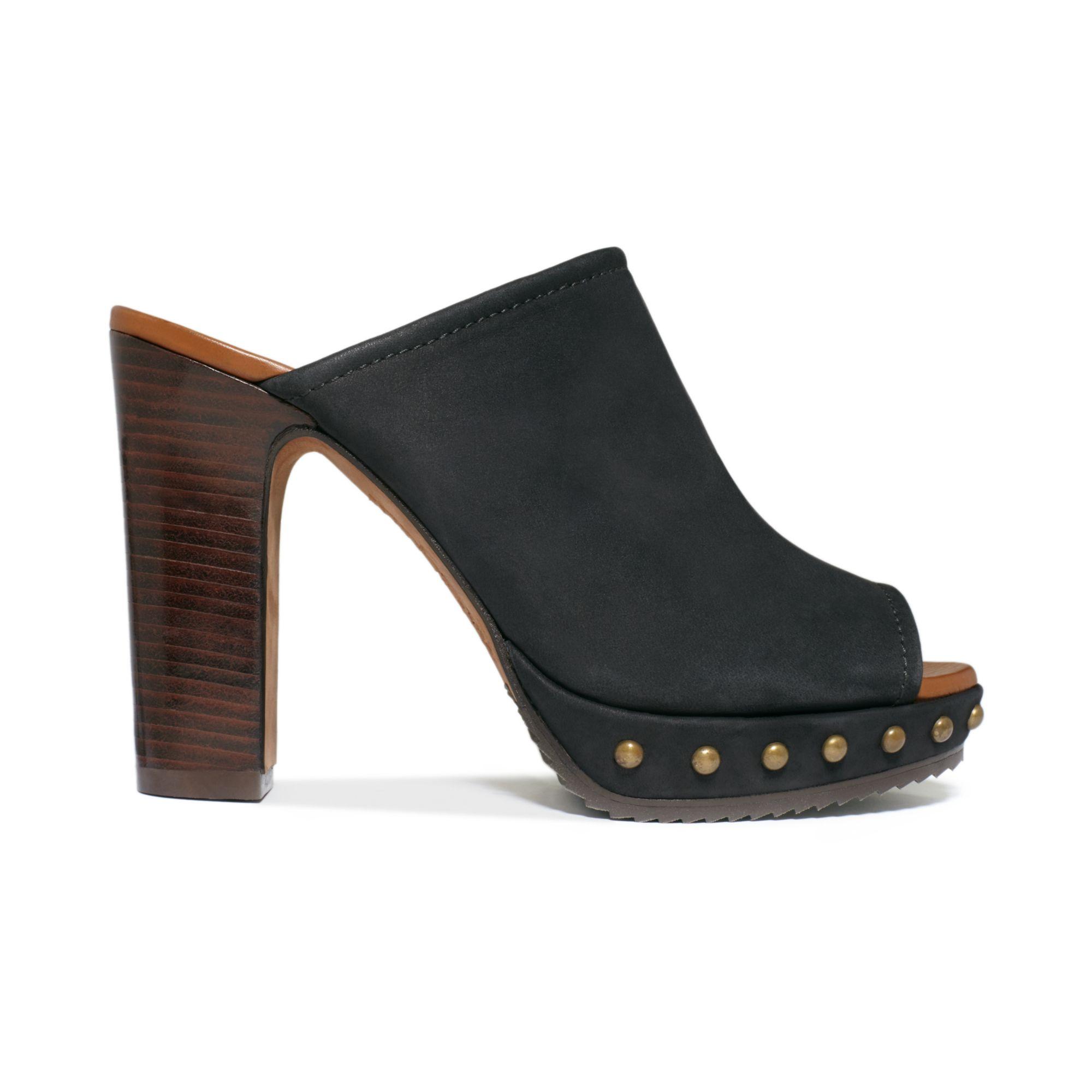 Donald Pliner Womens Mule Shoes
