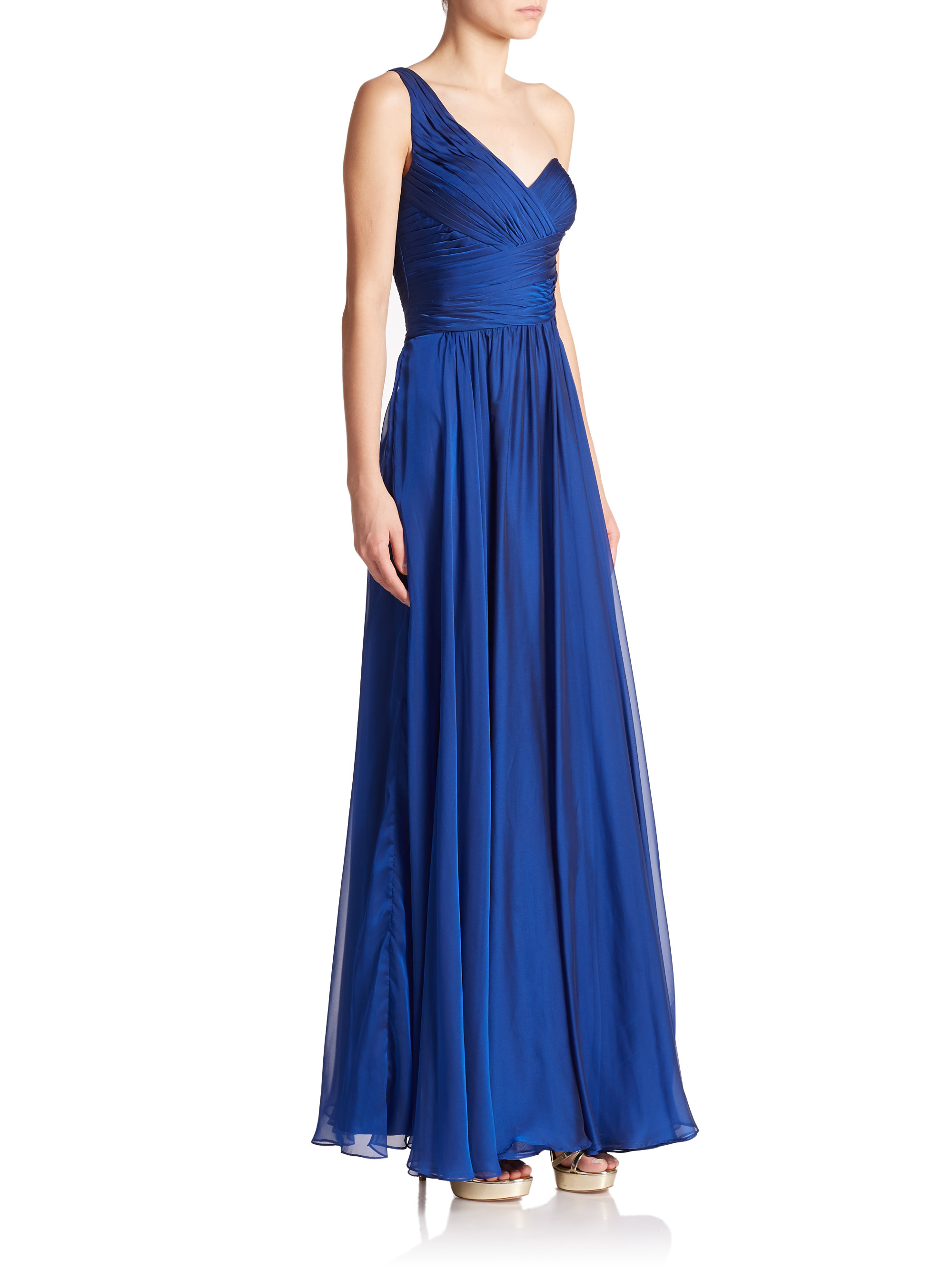 Hope, La femme one shoulder dress And have