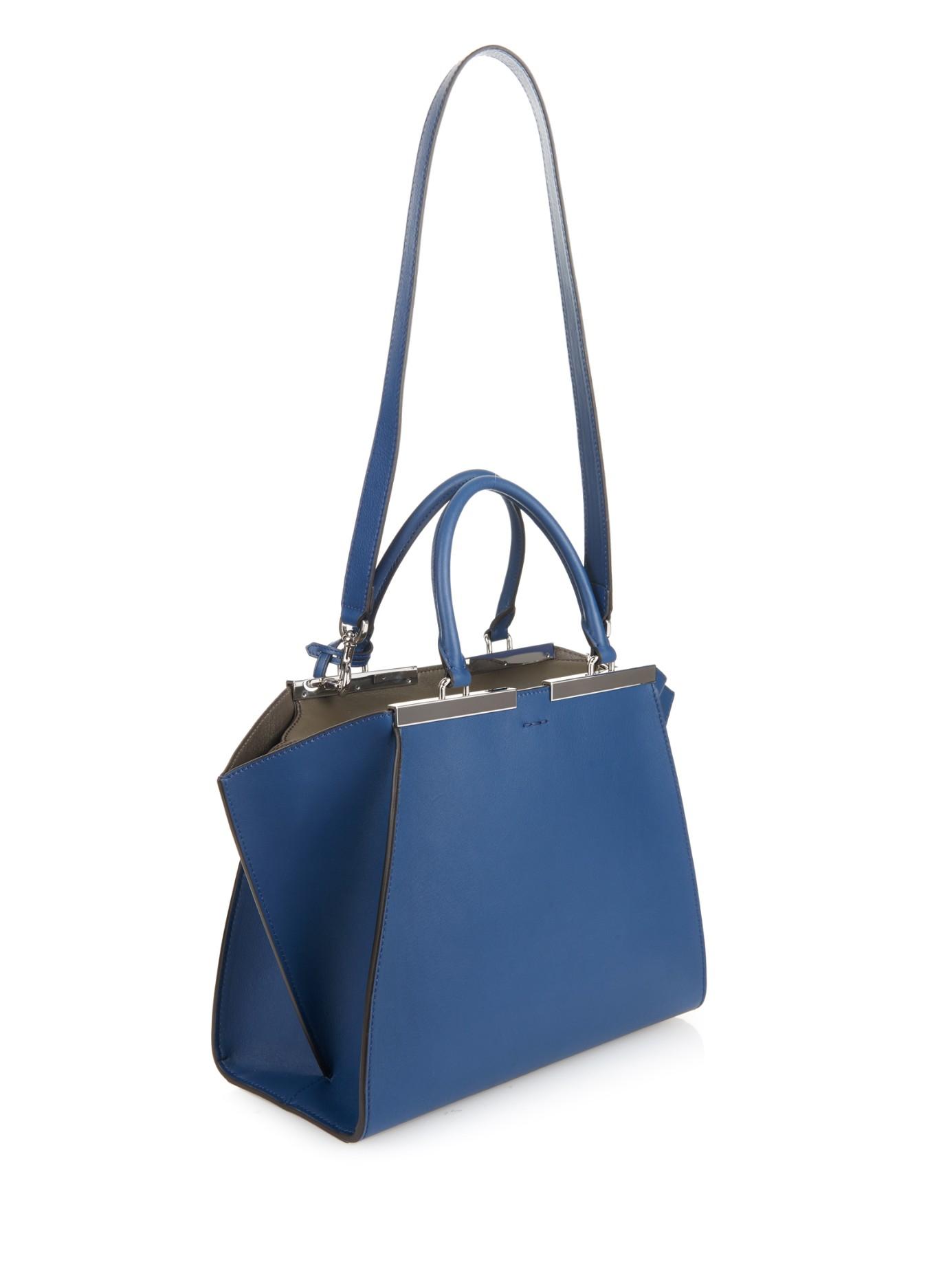 ... spain mini 3jours tote bag blue fendi 22e96 a20d3 ...