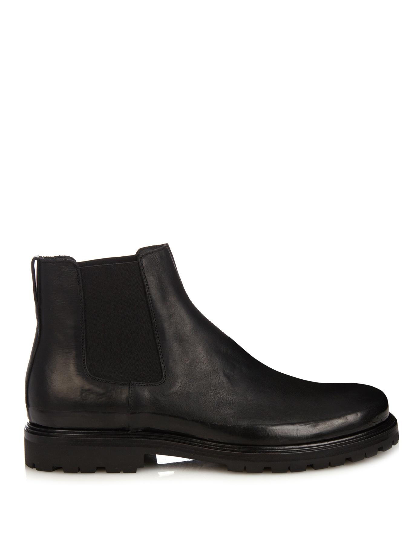 New Bottega Veneta Womens Brogue Chelsea Boots  Befablook